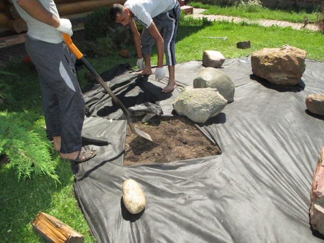 Сад камней - японский дзен-сад