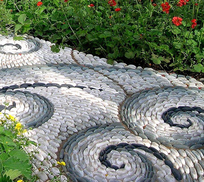Идеи для создания садовых дорожек